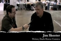 Jim Shooter with Ray Carsillo at 2010 Pittsburgh Convention
